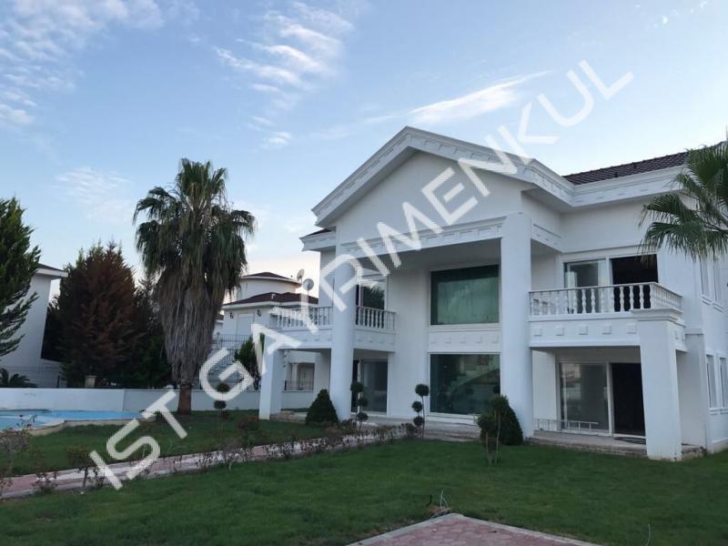 Belekte satılık müstakil villa